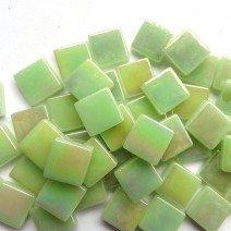 Soft Green Iridised