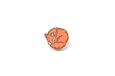 Значок Лиса клубочком
