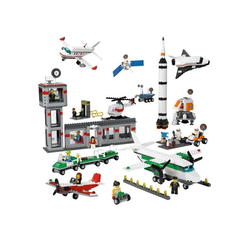 LEGO 9335 Космос и аэропорт