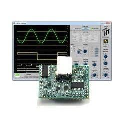 Двухканальный цифровой осциллограф