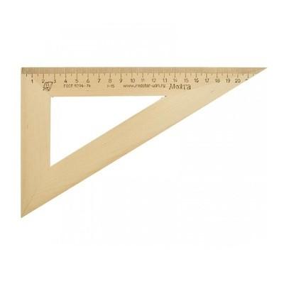 Треугольник деревянный 60° 23 см