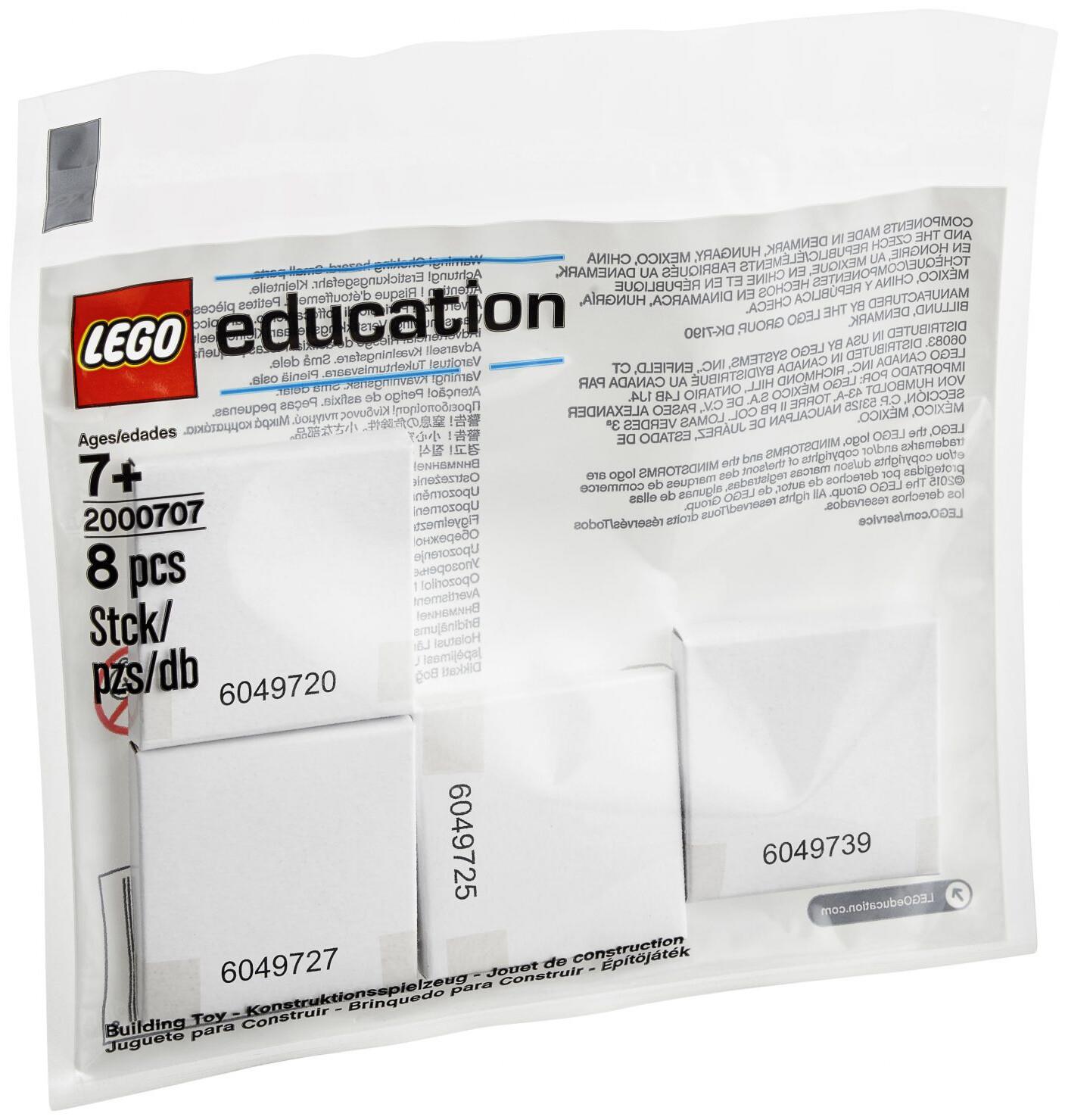 LEGO 2000707 LE набор с запасными частями «Резиновые кольца и приводы»