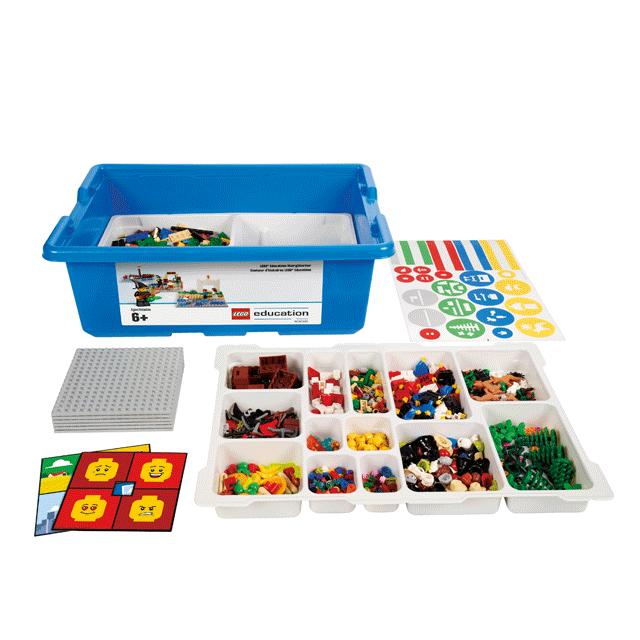 """LEGO 45100 Базовый набор StoryStarter """"Развитие речи 2.0"""" и учебные материалы"""