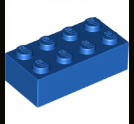 Кирпич 2х4 (синий)