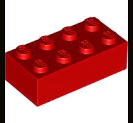 Кирпич 2х4 (красный)