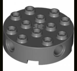 LEGO 4211097 Круглый кирпичик 4X4 (черный)