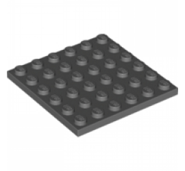 LEGO 4211134 Плитка 6X6 (темно-серая)