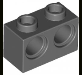 Кирпичик 1X2 M. с двумя отверстиями R 4,87