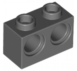 LEGO 4210762 Кирпичик 1X2 M. с двумя отверстиями R 4,87