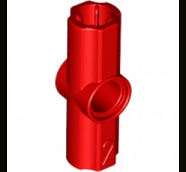 Угловой элемент, 180° (красный)
