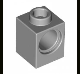 LEGO 4211535 Кирпичик 1X1 (серый)