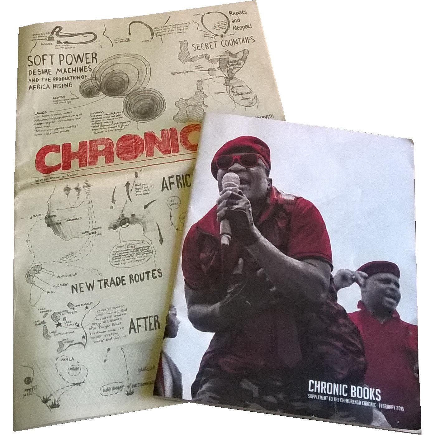 Chimurenga Chronic: New Cartographies (March 2015) Print CC0315