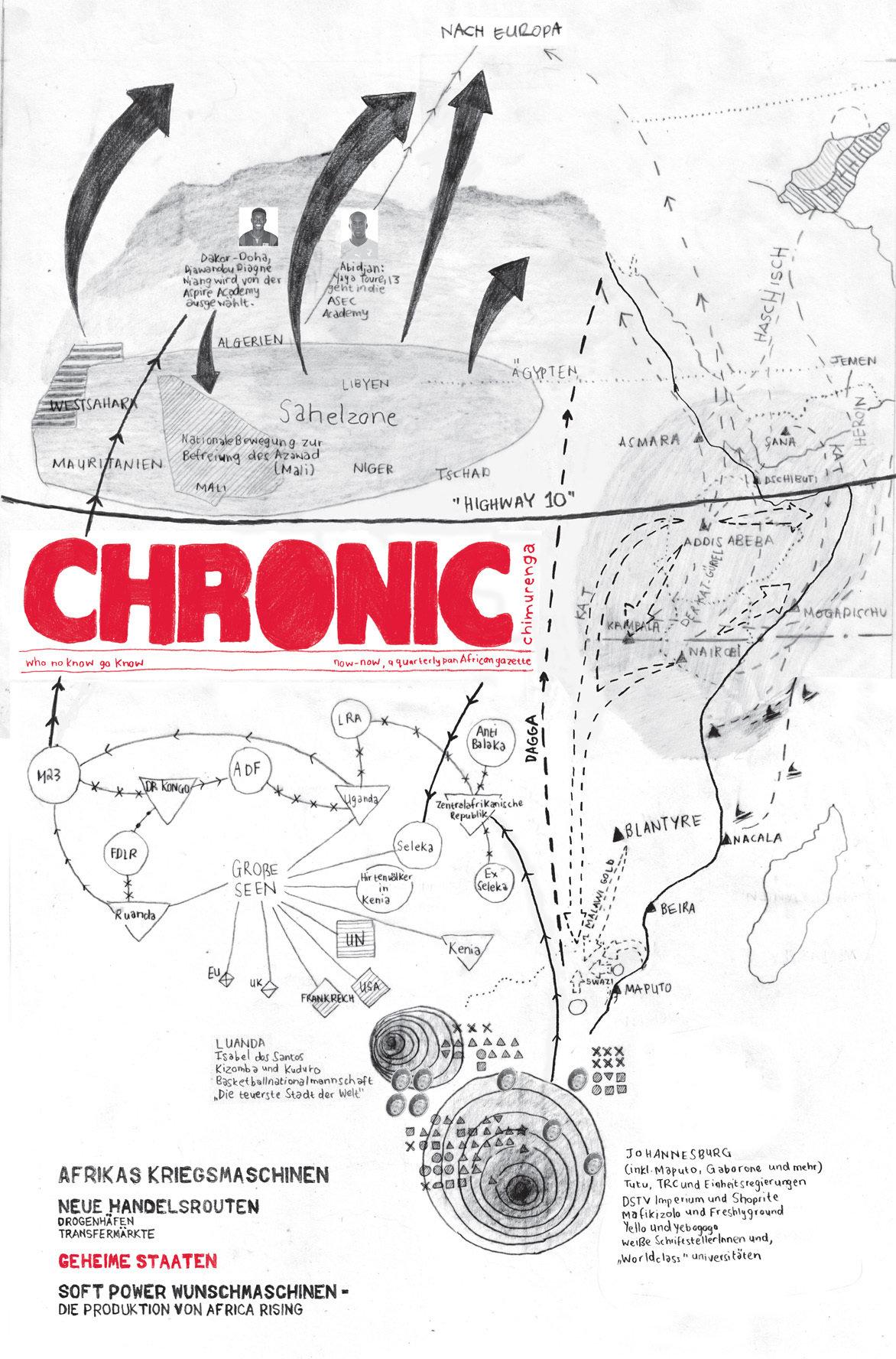 Chimurenga Chronic: New Cartographies (March 2015) Print