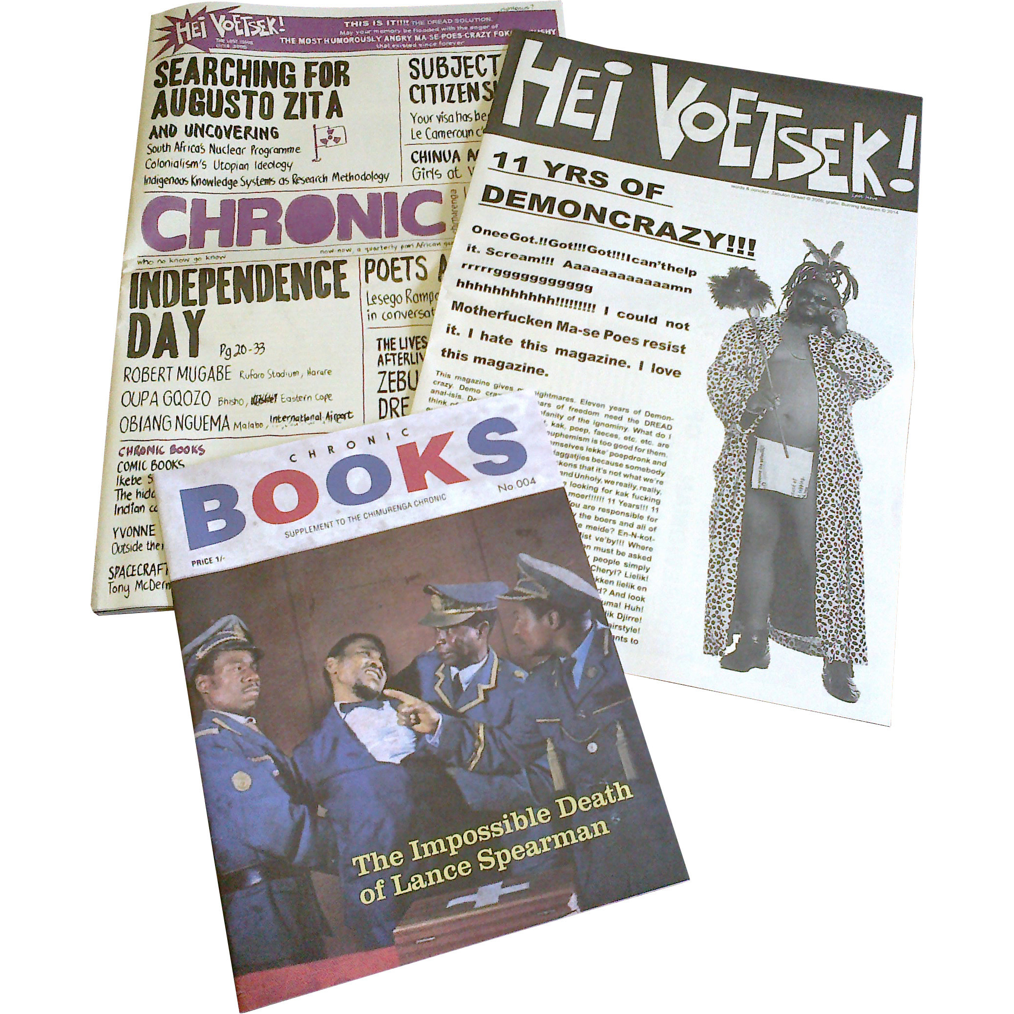 Chimurenga Chronic: Graphic Stories (July 2014) Print CC0614