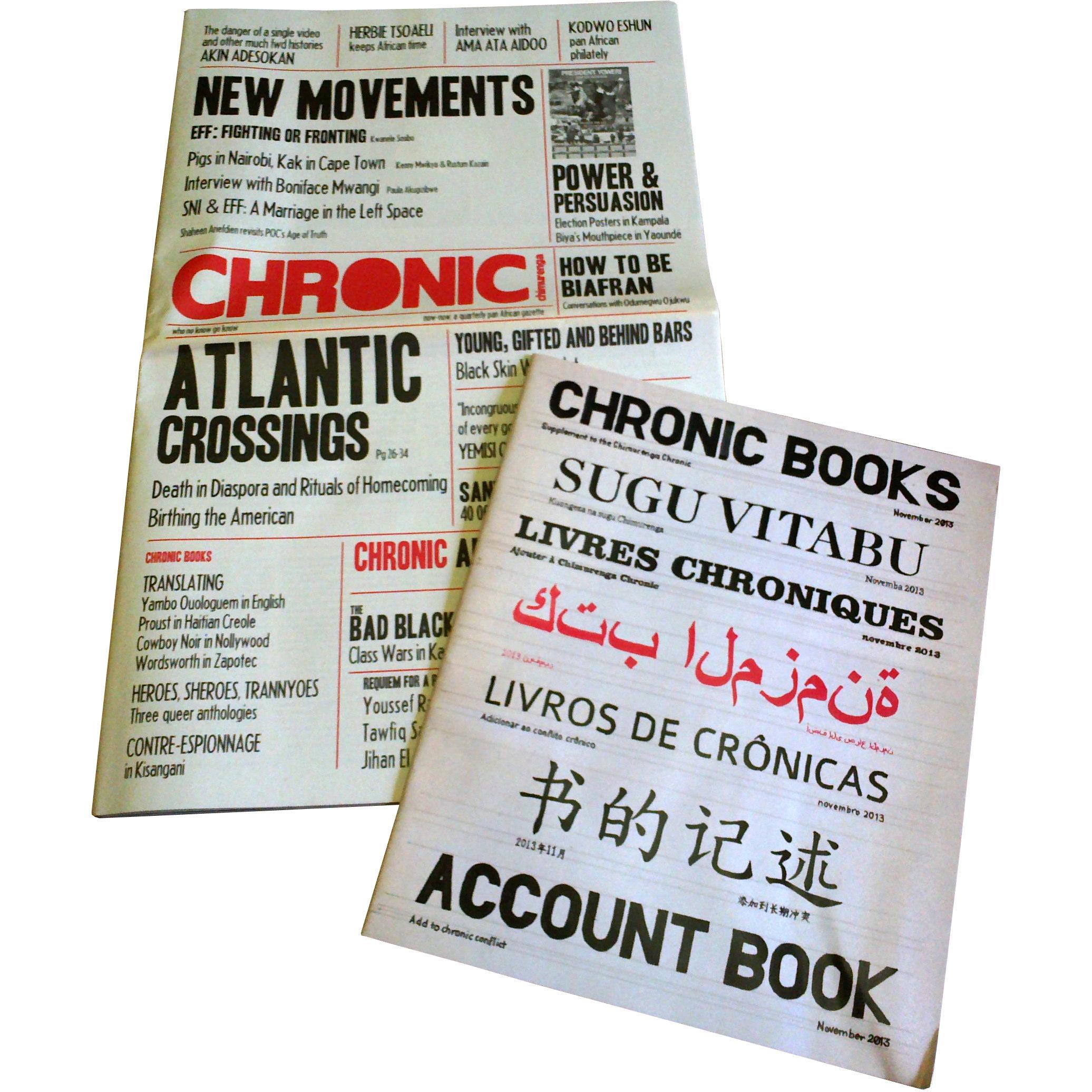 Chimurenga Chronic (December 2013) Print CC1213