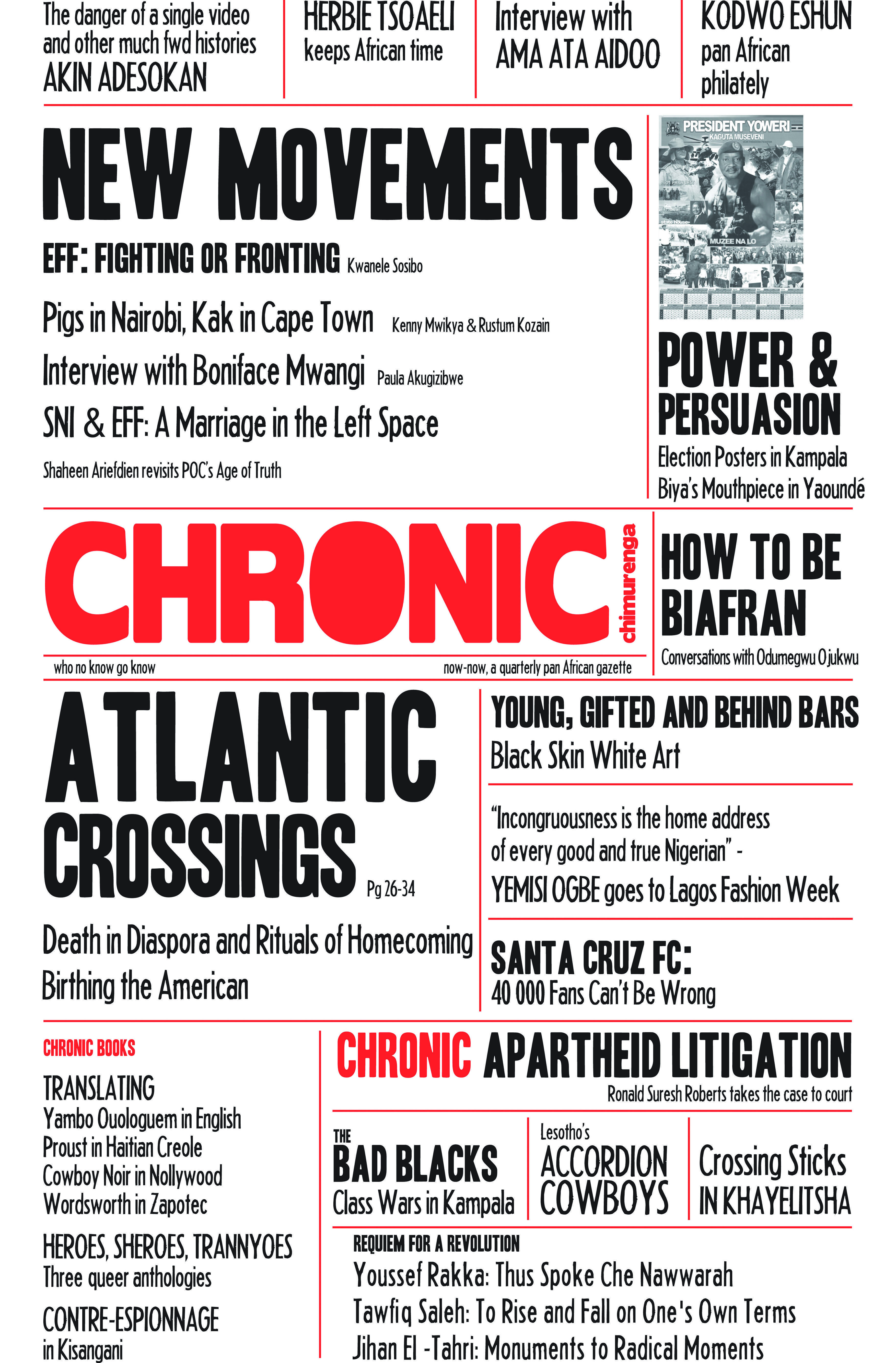 Chimurenga Chronic (December 2013) Print