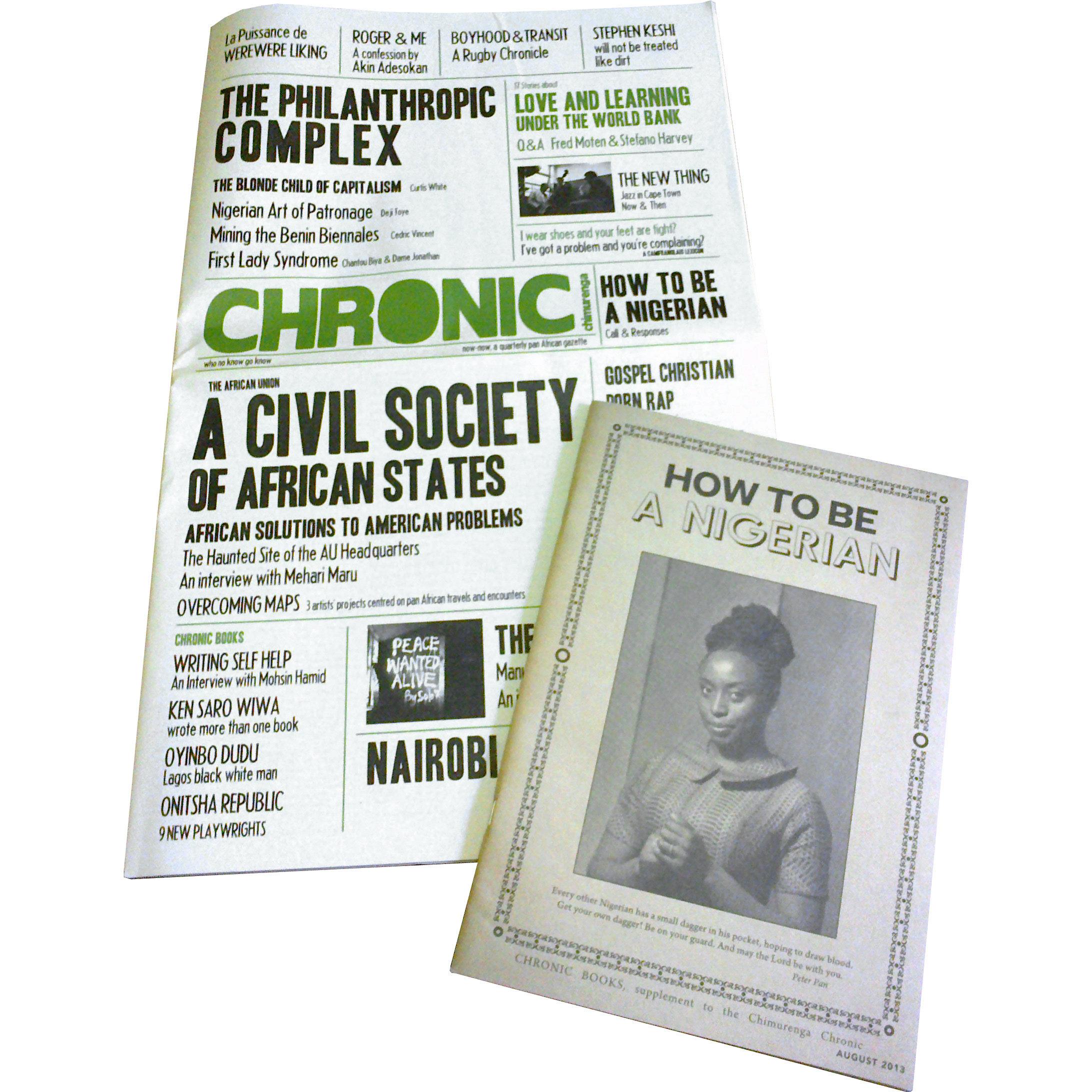 Chimurenga Chronic (August 2013) Print CC0813