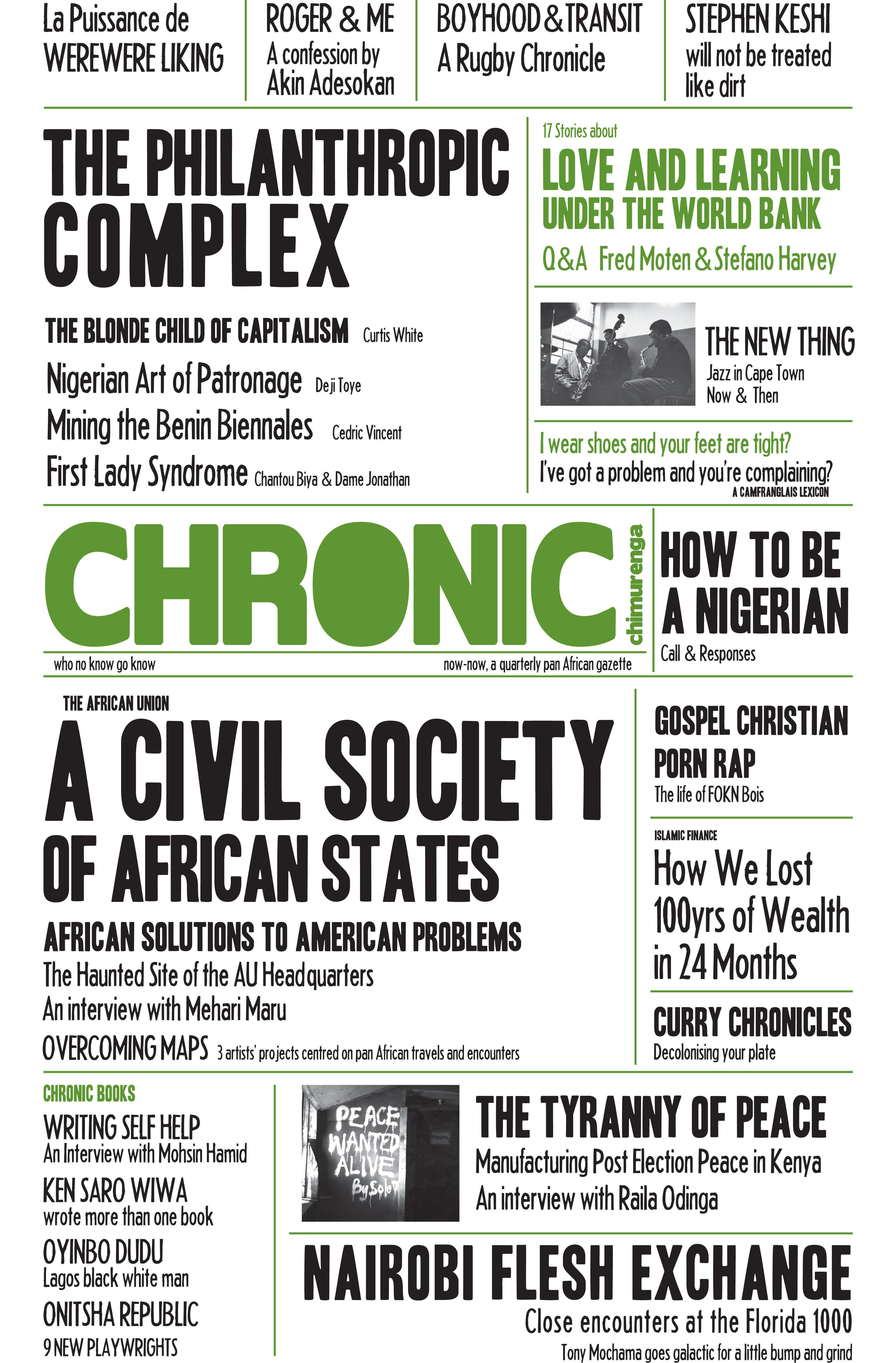 Chimurenga Chronic (August 2013) Print