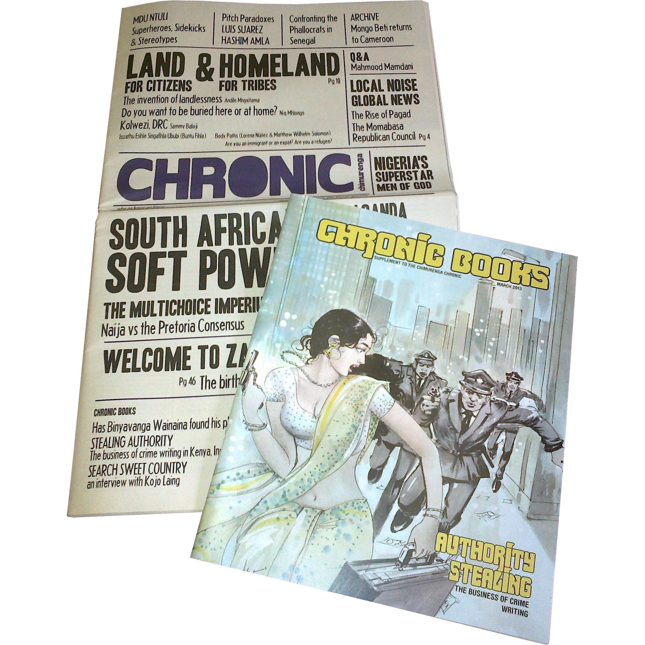 Chimurenga Chronic (April 2013) Print CC0413