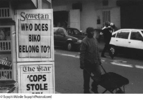 Chimurenga 03: Biko in Parliament (November 2002) Print
