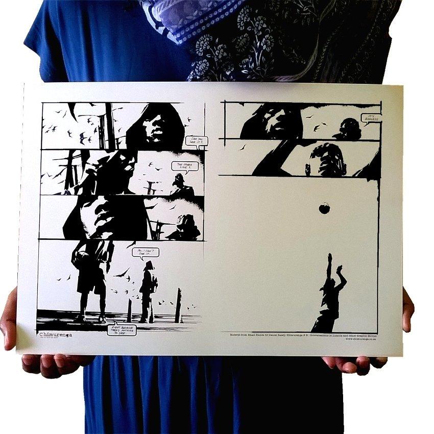Chimurenga 9: Conversations in Luanda & Other Graphic Stories (Extract Art No.2) CAP04