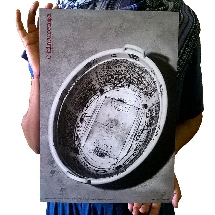 Chimurenga 10: Futbol, Politricks & Ostentatious Cripples (Extract Art Print) CAP06