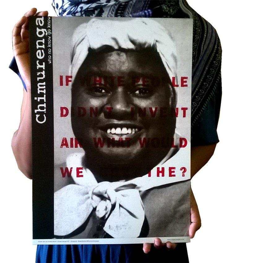 Chimurenga 5: Head/Body & (Tools)/Corpses (Cover Art Print) CAP02