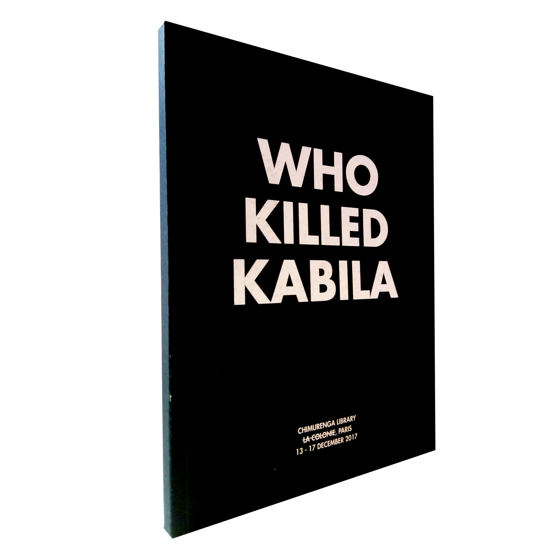 Who Killed Kabila (December, 2017) CIR01