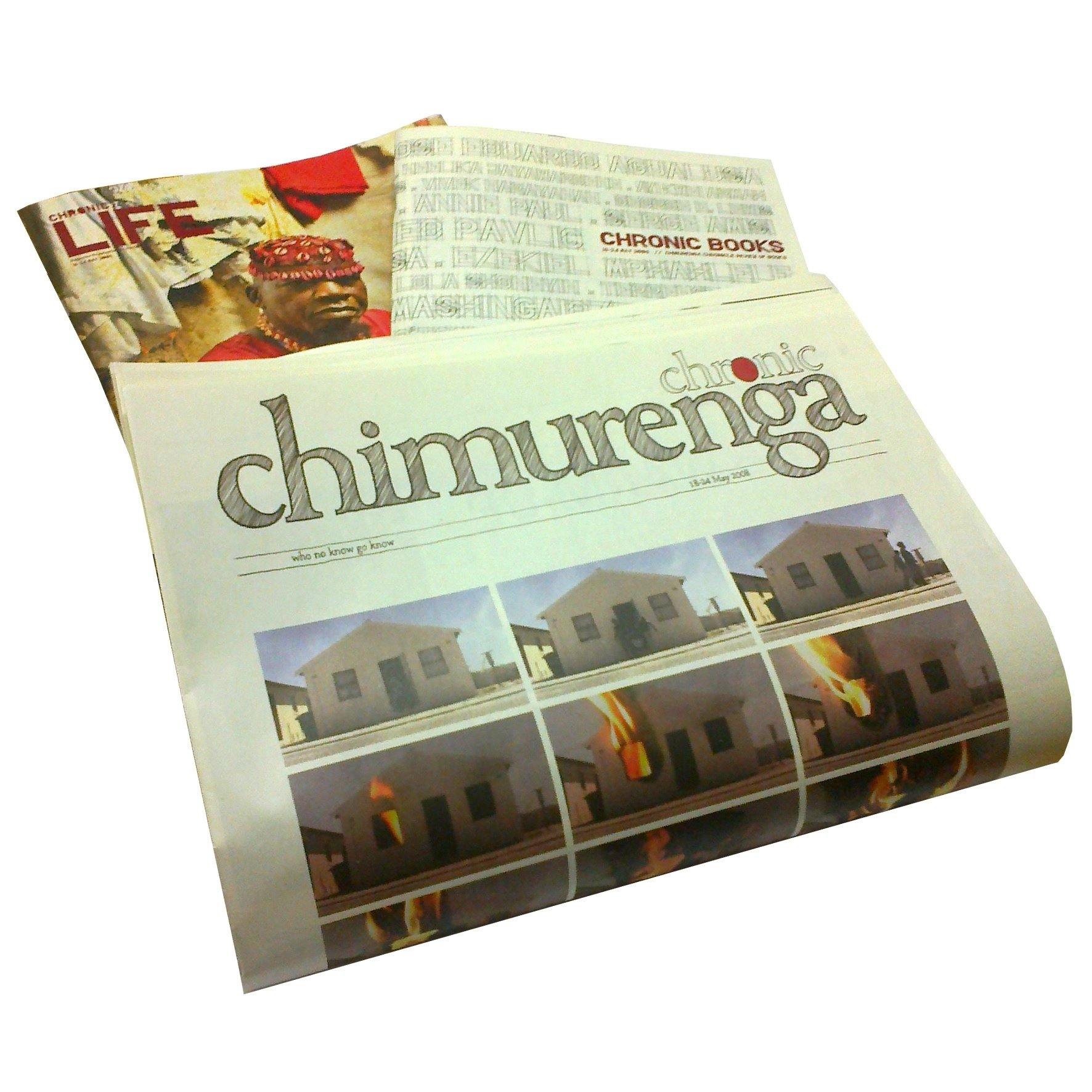 Chimurenga 16: The Chimurenga Chronicle  (October 2011) Print CJ1011