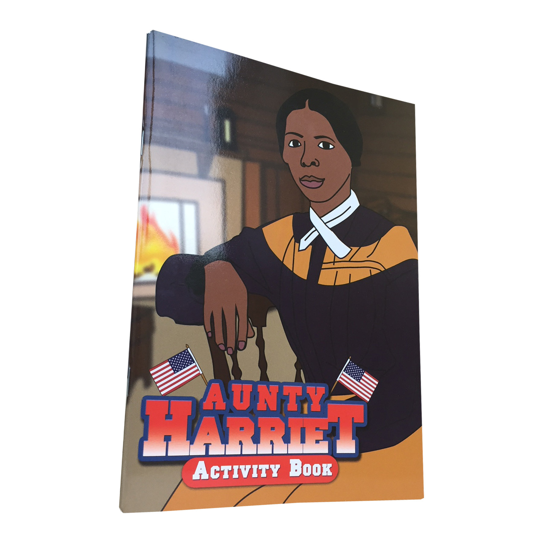Aunty Harriet: Black History Activity Book 00000