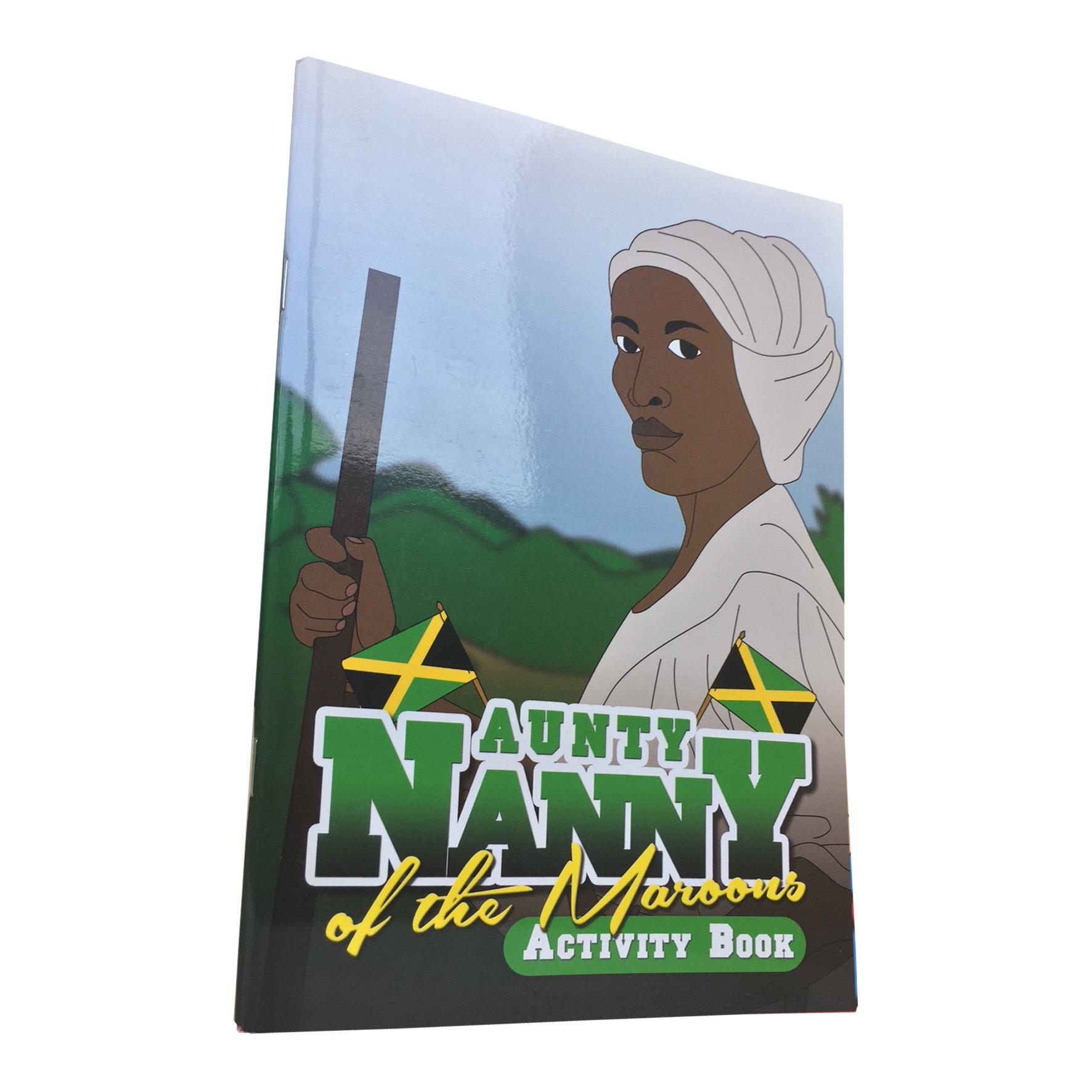Aunty Nanny of the Maroons: Black History Activity Book 00001