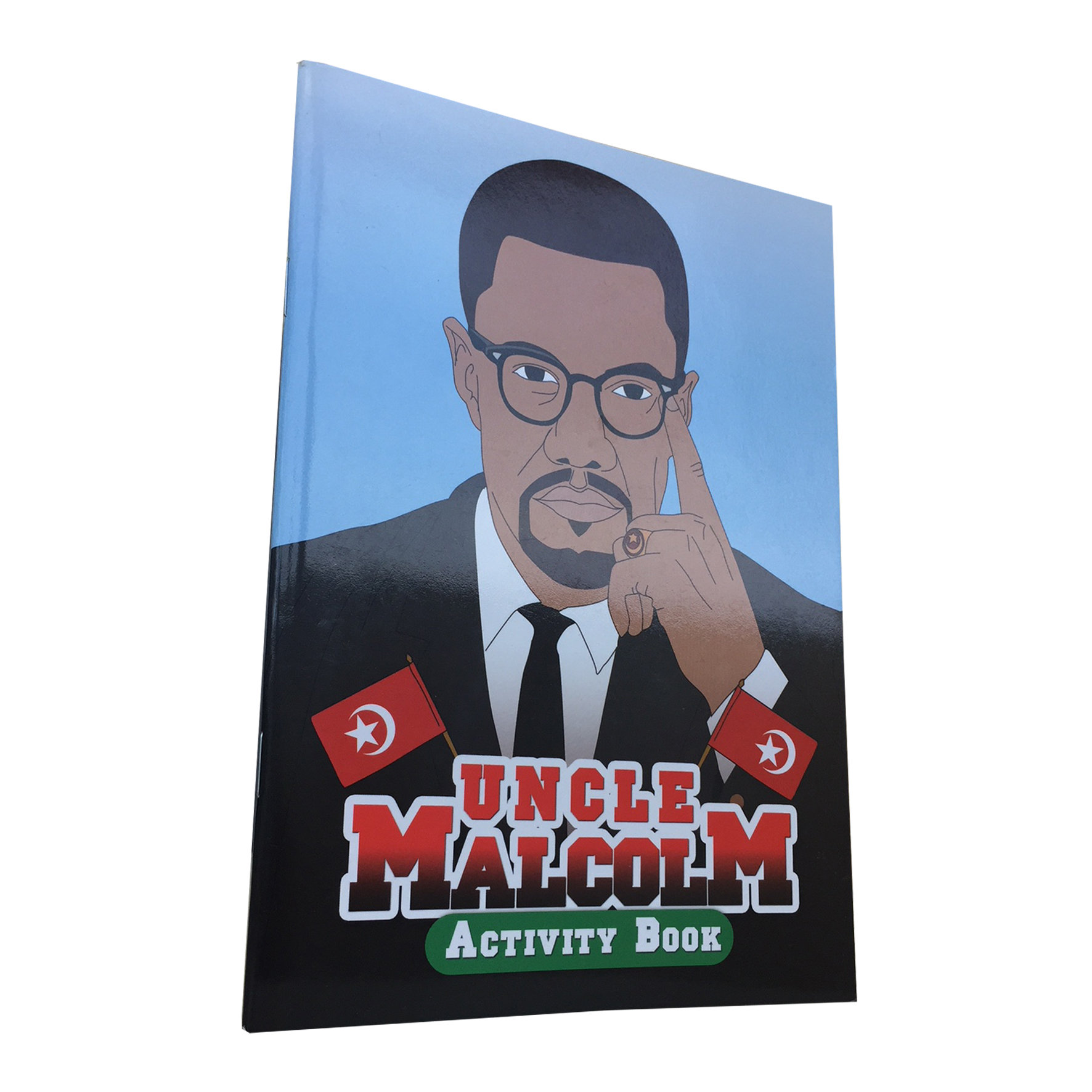 Uncle Malcolm: Black History Activity Book 00005