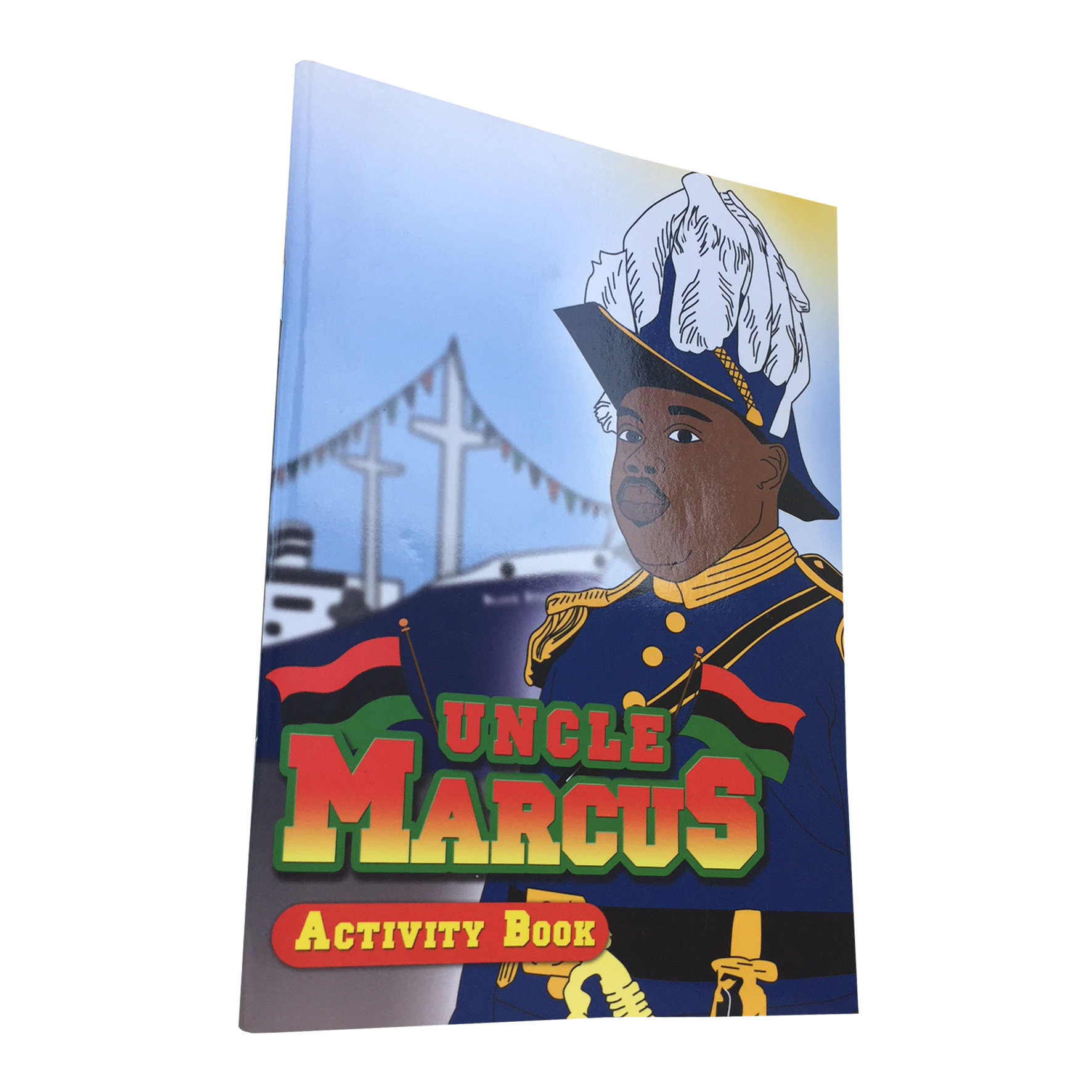 Uncle Marcus: Black History Activity Book 00006