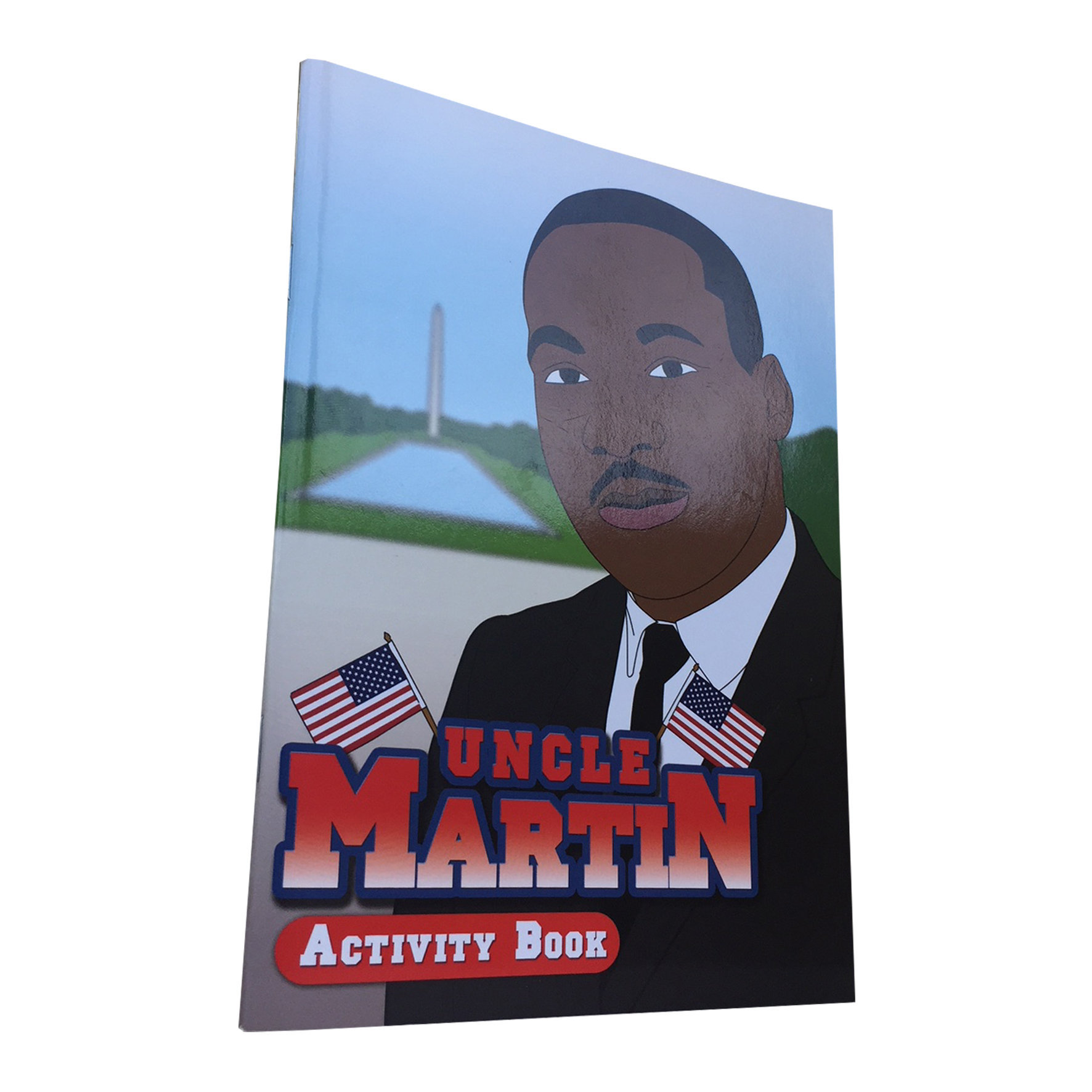 Uncle Martin: Black History Activity Book 00007