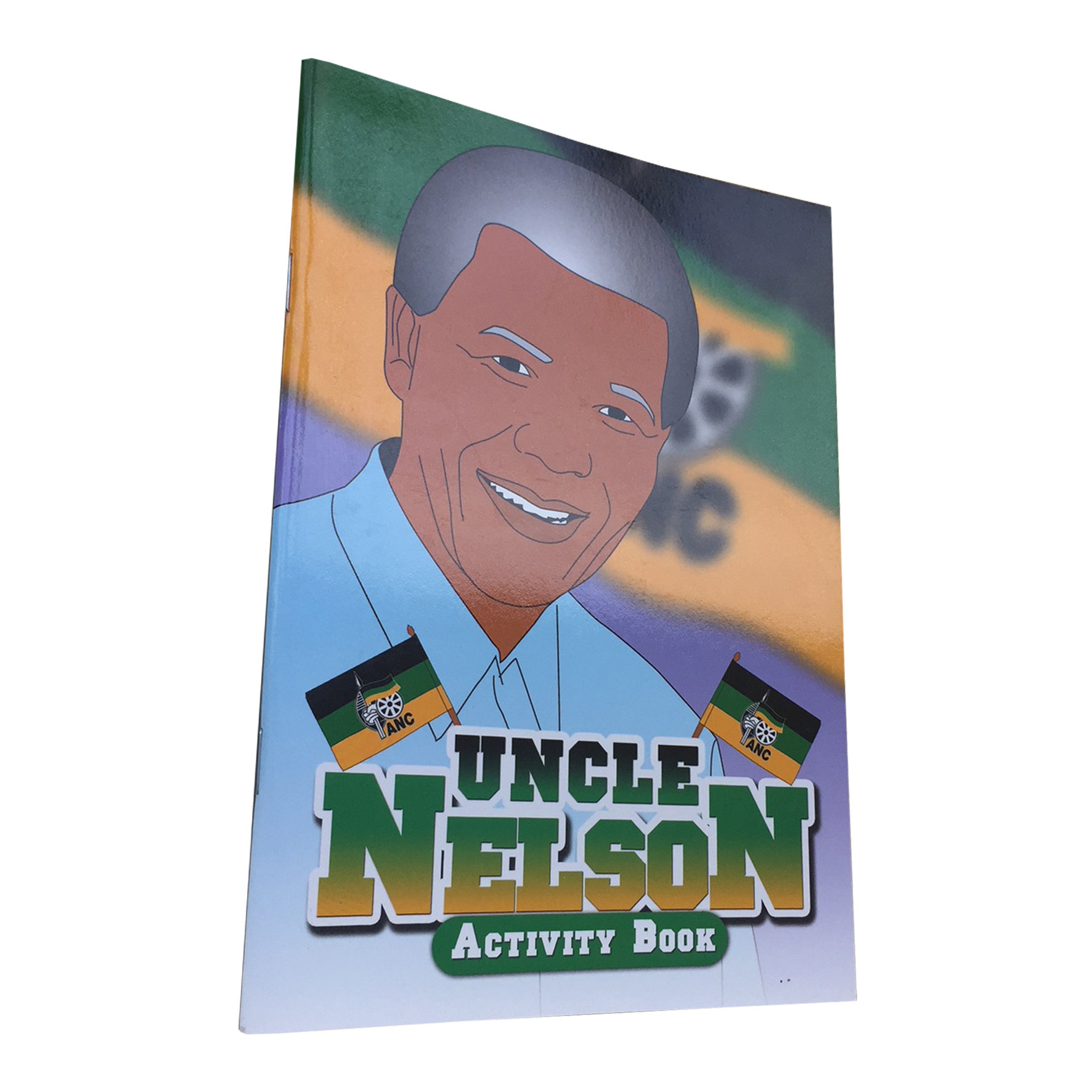 Uncle Nelson: Black History Activity Book 00009
