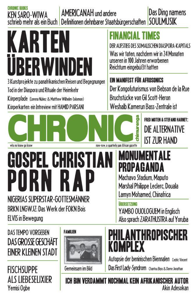 Chimurenga Chronic - German Special Edition (April 2014) Print