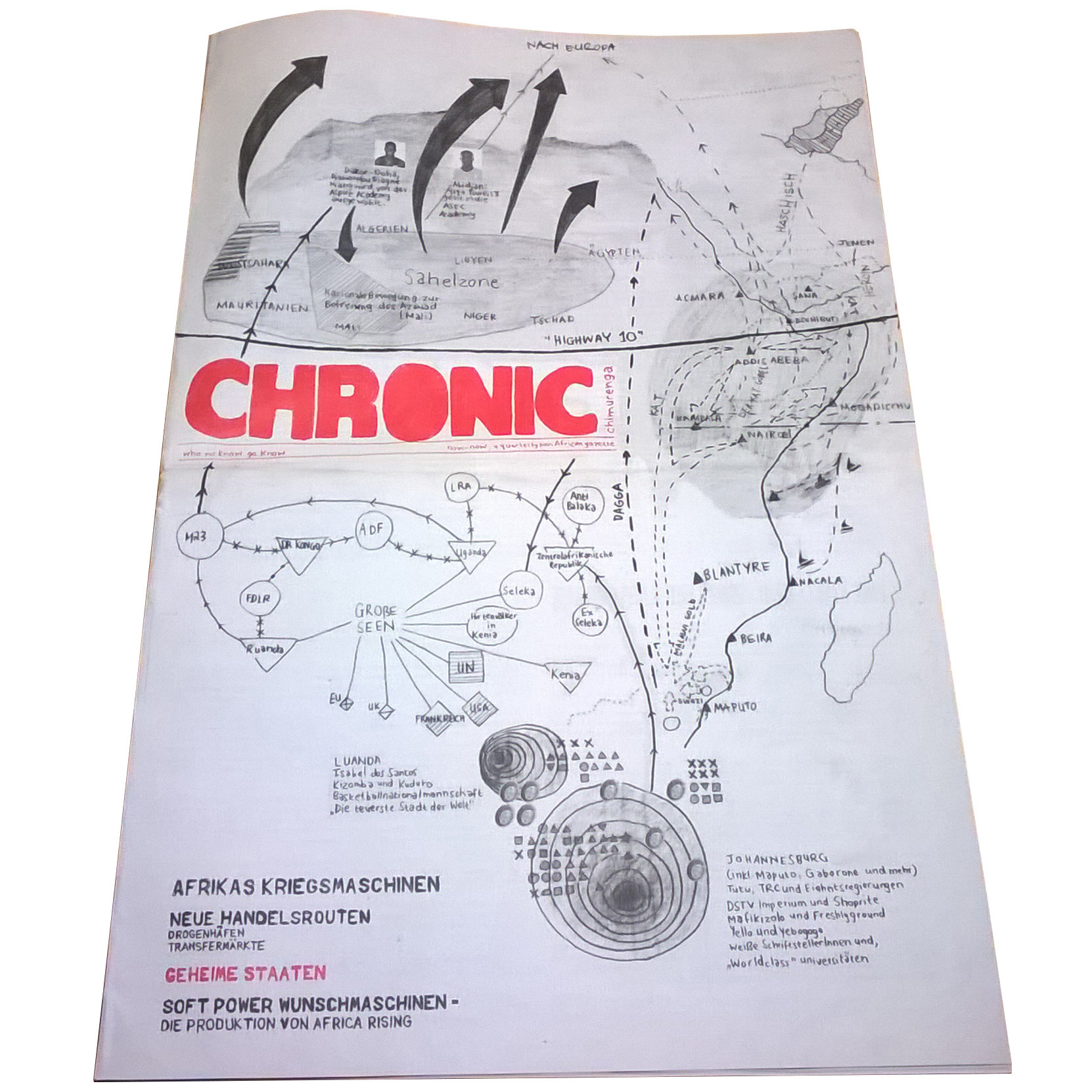 Chimurenga Chronic: German Special Edition (October 2016) Print CCG2