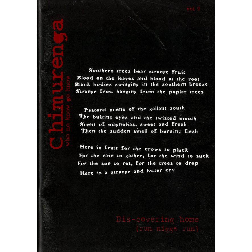Chimurenga 02: Dis-covering Home (July 2002) Digital CJD0702