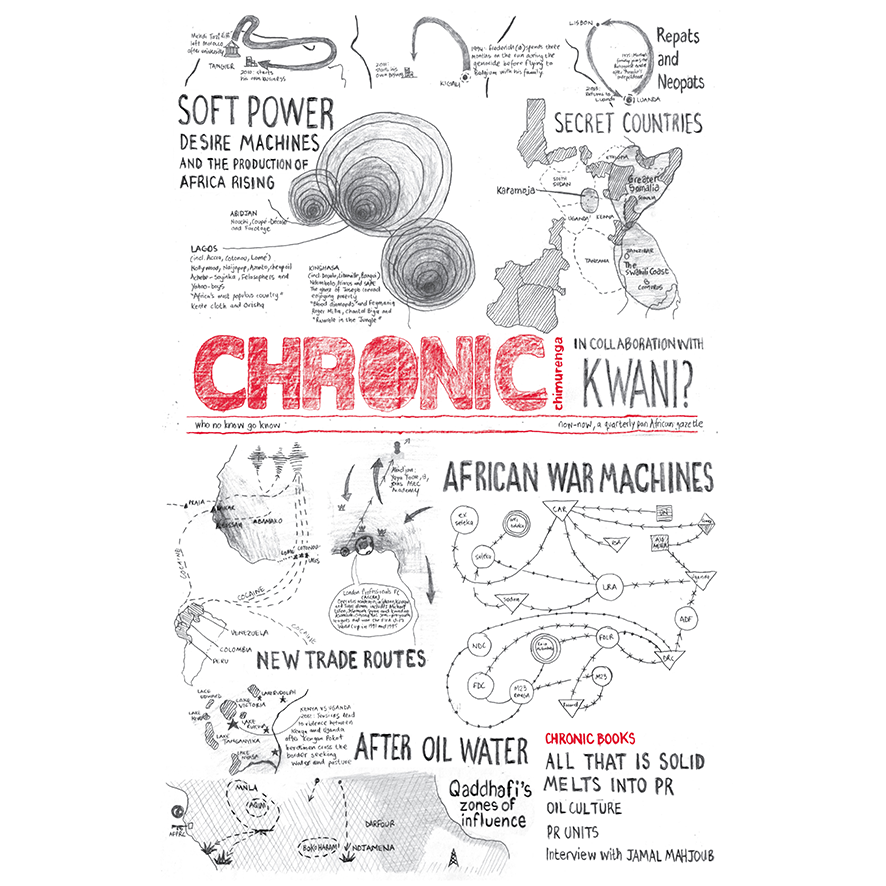 Chimurenga Chronic: New Cartographies (March 2015) Digital CCD0315