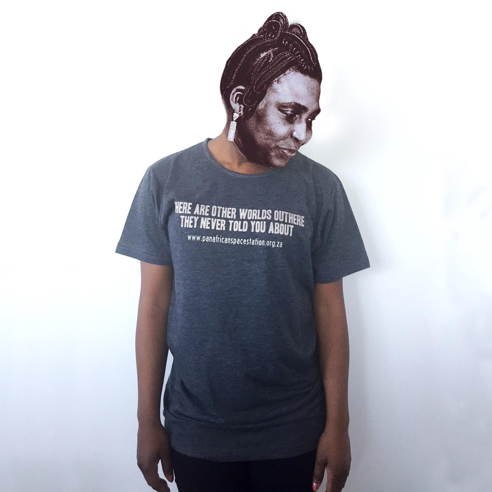 Pan African Space Station T-Shirt (Grey) CSM06