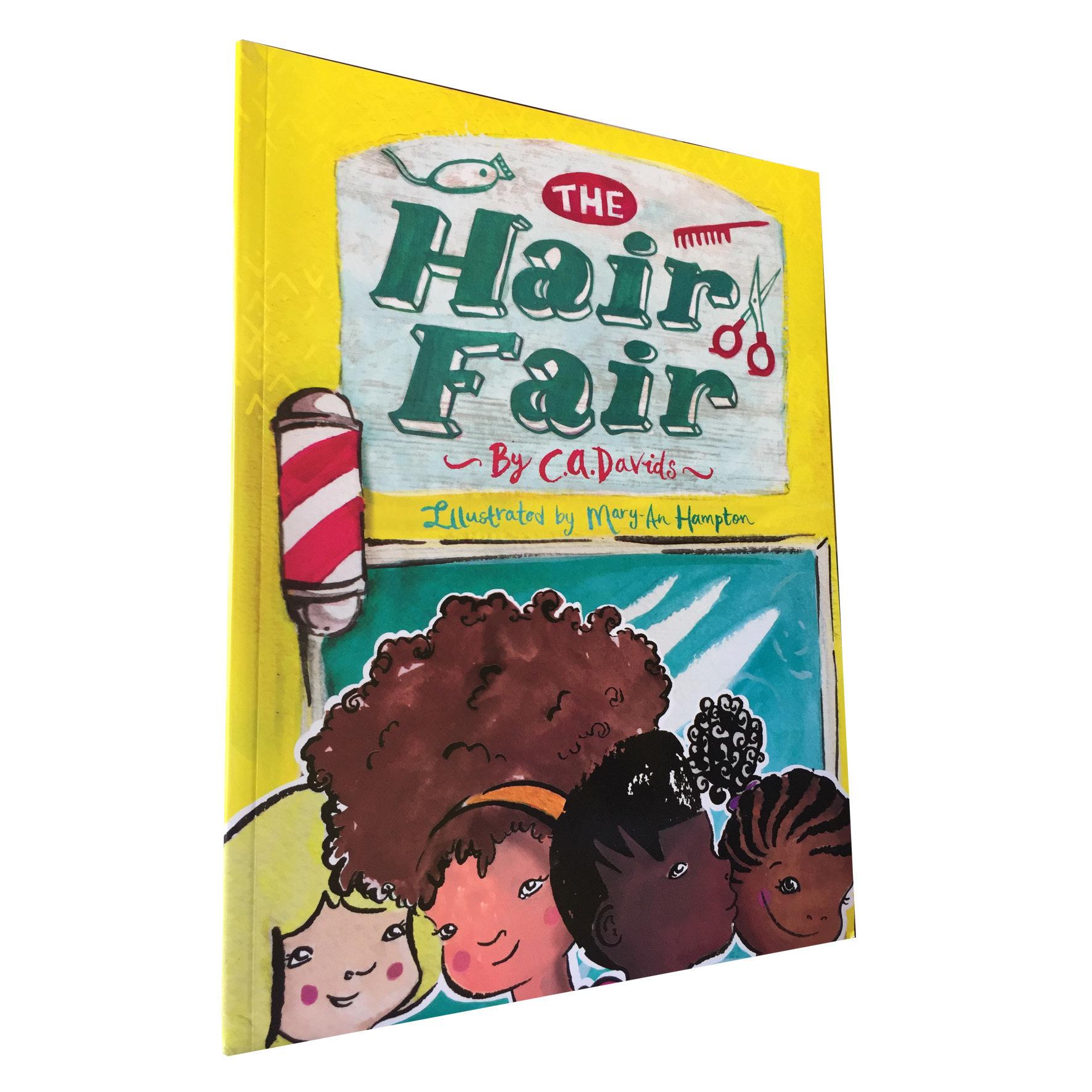 The Hair Fair by C. A. Davids (Every Child Books, 2016) ECB02
