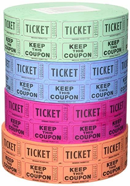 Raffle Tickets - 25 pack