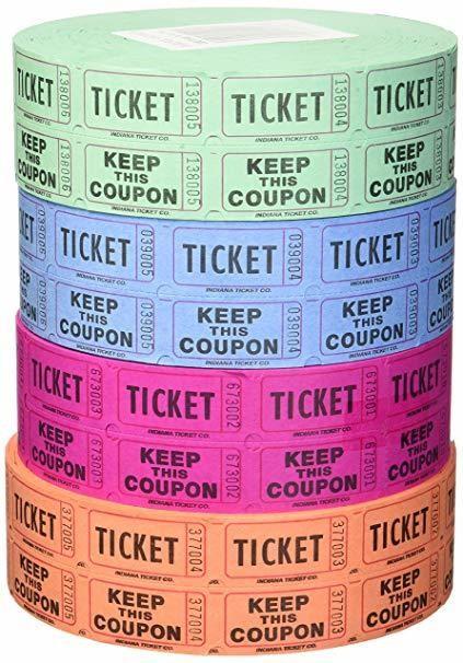 Raffle Tickets - 4 night ROOM CREDIT
