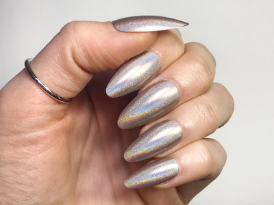 Grey Holographic