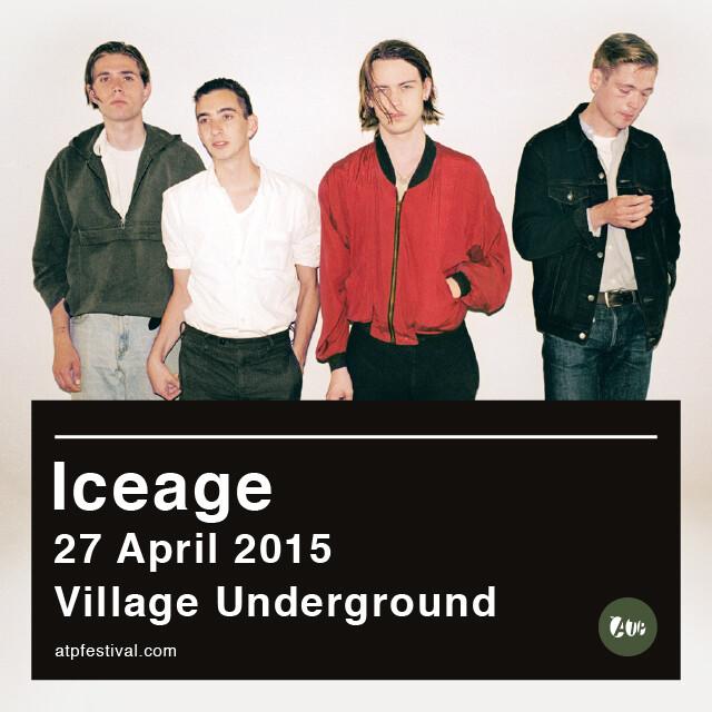 ICEAGE (27/04/15) - Tickets