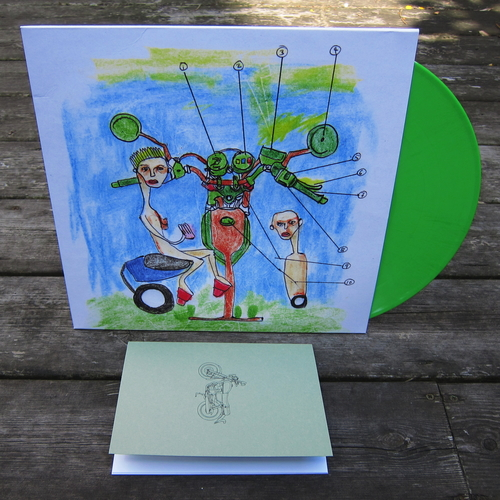 HEBRONIX 'Unreal' Limited Edition - LP (with download code) + Art Book package!