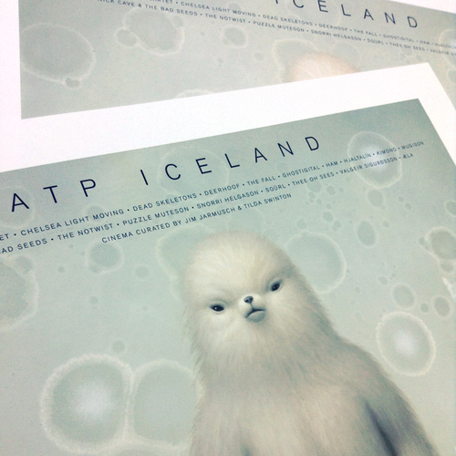 ATP Iceland Limited Edition Heavyweight Lithographic Prints (Mark Ryden)