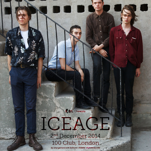 ICEAGE (02/12/14) - Tickets