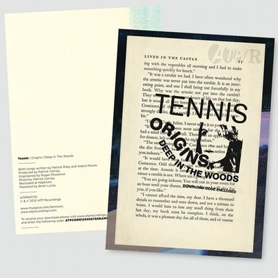 TENNIS 'Origins / Deep In The Woods' Signed Ltd Edition Book Page