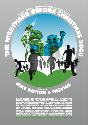 ATP curated by Mike Patton & Melvins poster (Ben Drury)